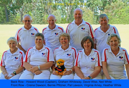 SA Golf Croquet State Team 2013