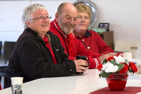 Wendy Thiele with Eric and Mavis Klenke