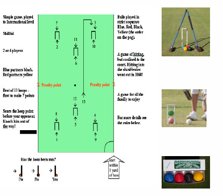 Introduction to gold croquet